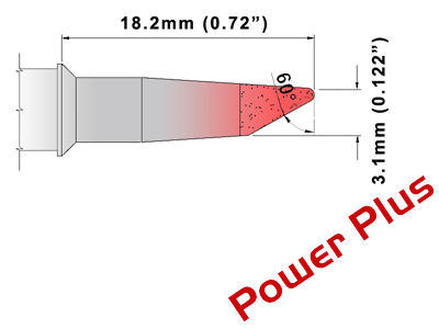 M Series Soldering Tip (MXDS023H)