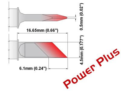 M Series Soldering Tip (MXDS526H)