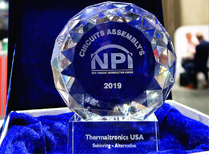 Thermaltronics Wins New Product Innovation (NPI) Award for New Full Vision TMT-R9800S Soldering Robot